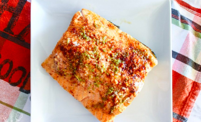Baked Chili Lime Salmon Recipe