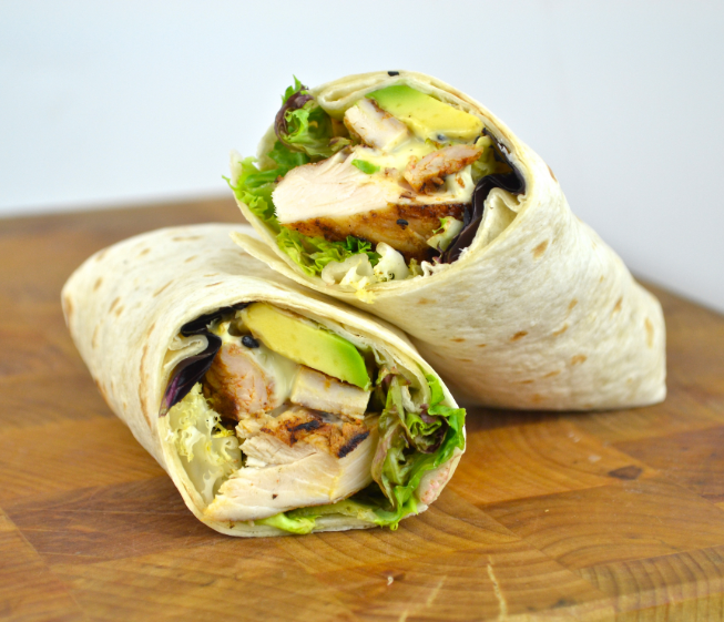 Chicken Ranch Wraps Recipe