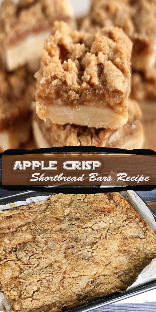 Apple Crisp Shortbread Bars Recipe 1