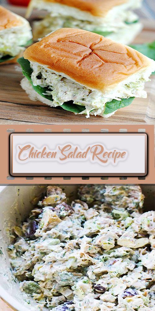 Chicken Salad Recipe 1