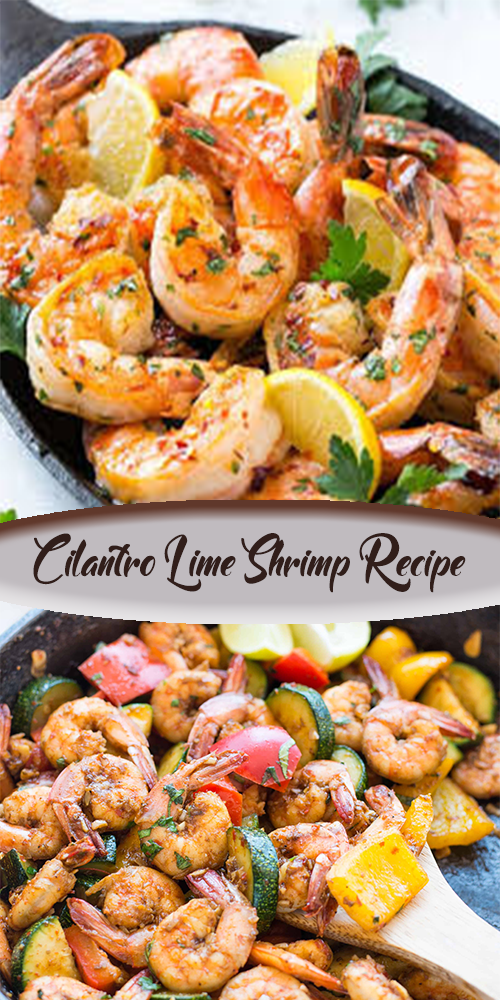 Cilantro Lime Shrimp Recipe 1