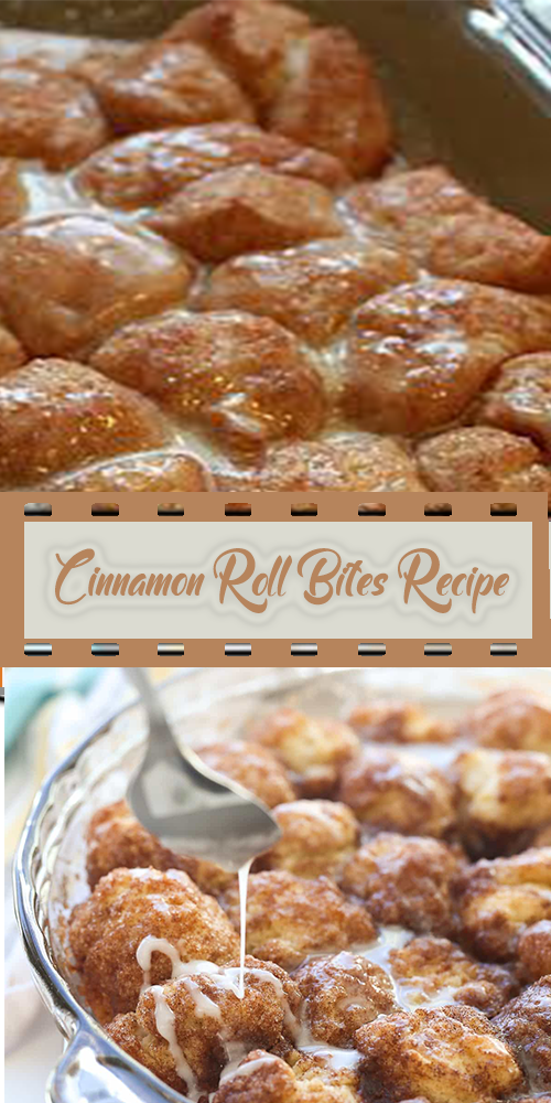 Cinnamon Roll Bites Recipe 1