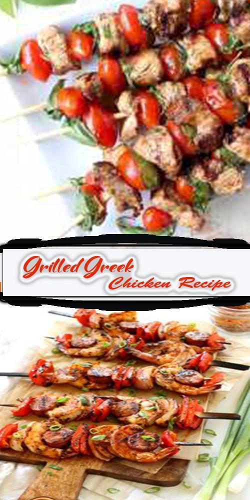 Grilled Greek Chicken Recipe 1