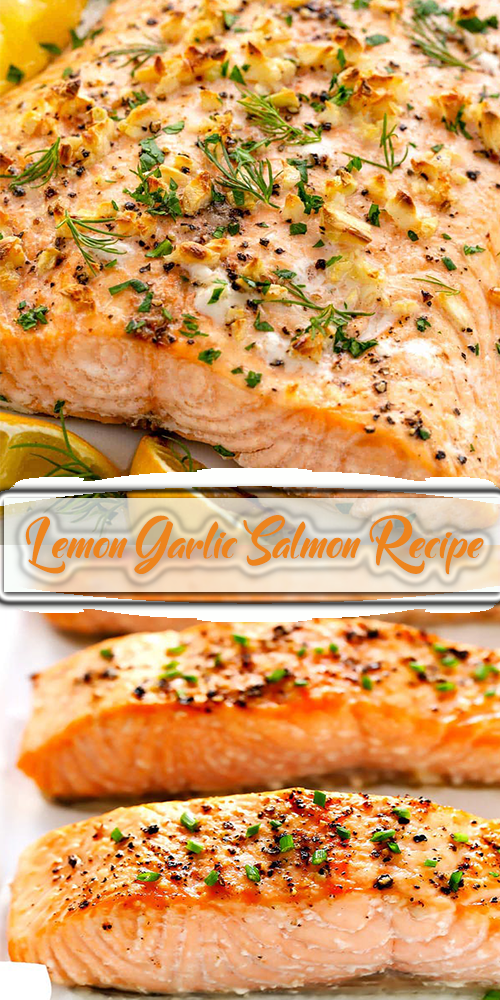Lemon Garlic Salmon Recipe 1