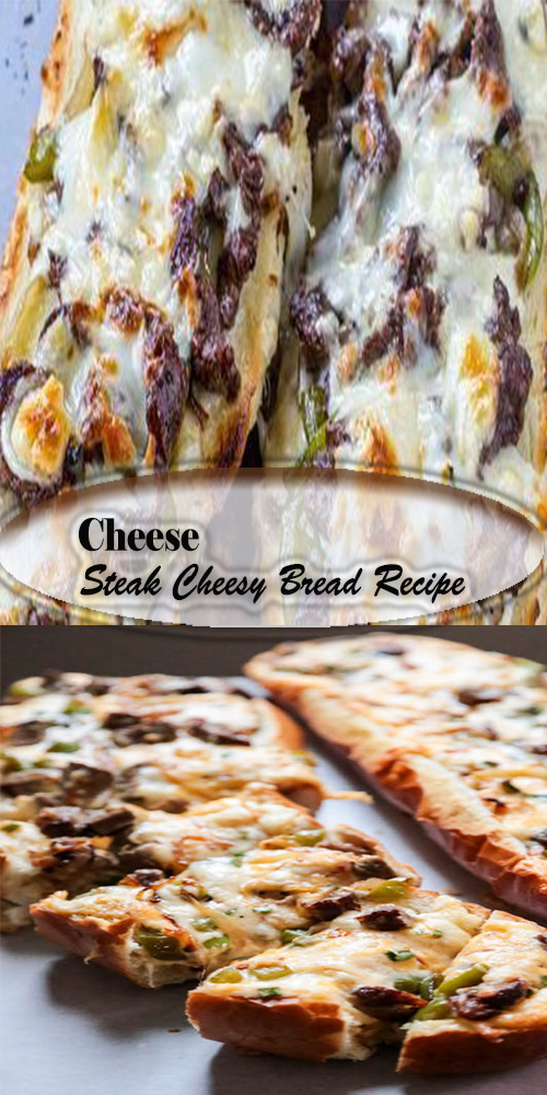 Cheese Steak Cheesy Bread Recipe 1