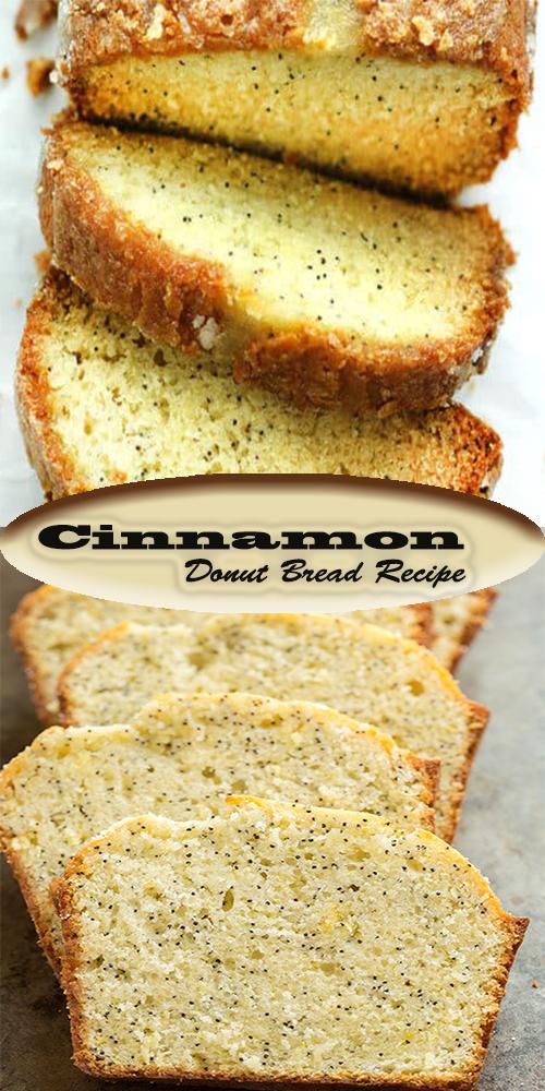 Cinnamon Donut Bread Recipe 1