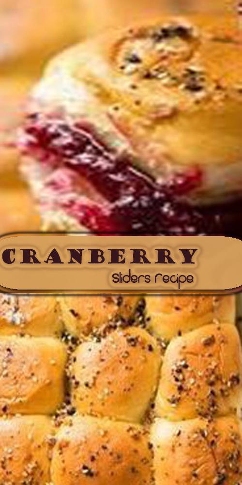 Cranberry Sliders Recipe 1