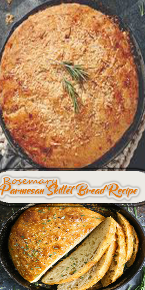 Rosemary Parmesan Skillet Bread Recipe 1