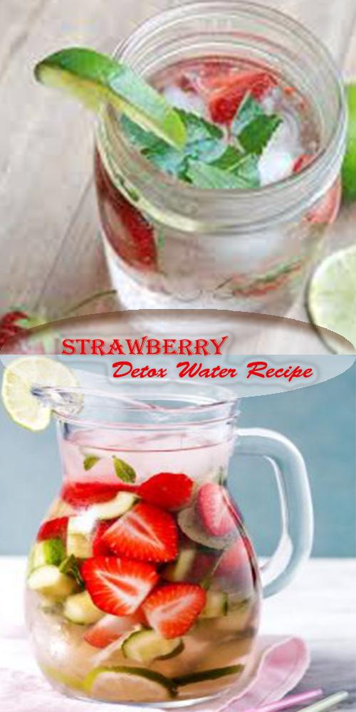 Strawberry Detox Water Recipe 1