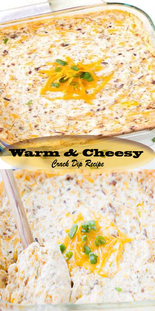 Warm & Cheesy Crack Dip Recipe 1