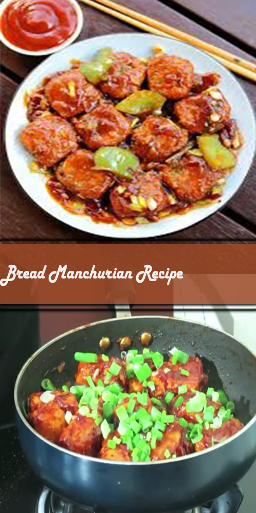 Bread Manchurian Recipe 1
