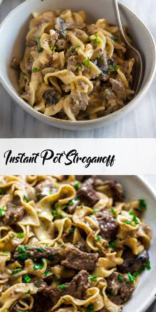 Instant Pot Stroganoff 11