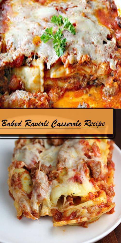 Baked Ravioli Casserole Recipe 1
