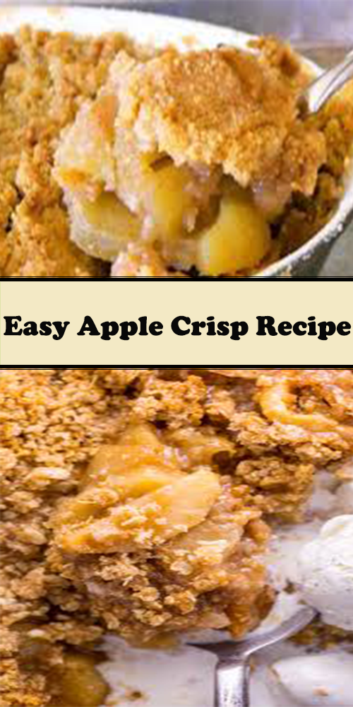 Easy Apple Crisp Recipe 1