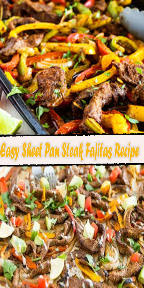 Easy Sheet Pan Steak Fajitas Recipe 1
