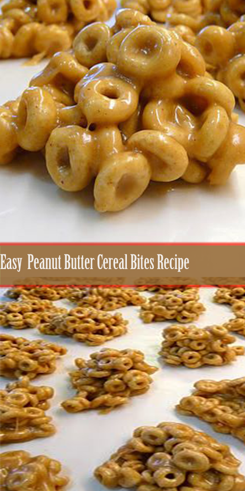 Easy Peanut Butter Cereal Bites Recipe 11