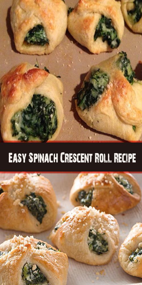 Easy Spinach Crescent Roll Recipe 1