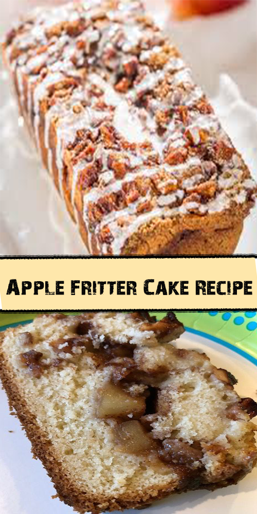 Apple Fritter Cake Recipe 1