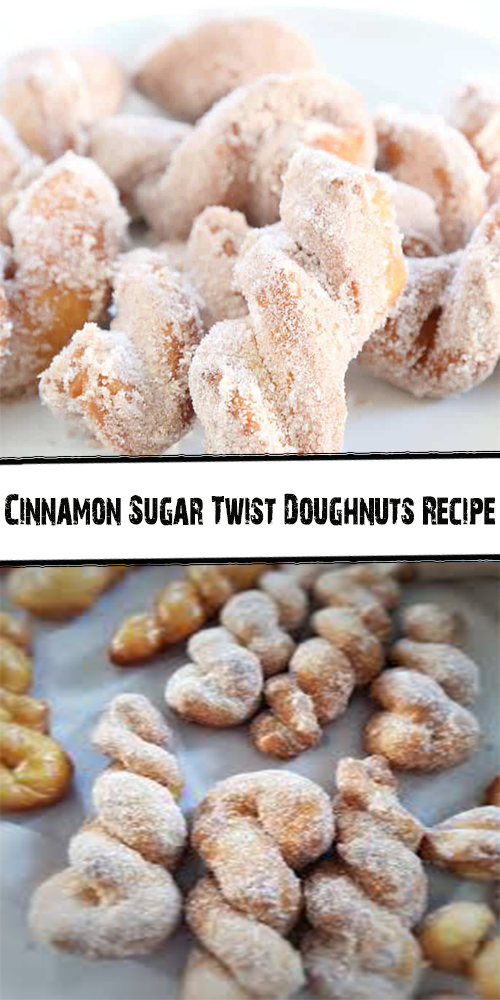 Cinnamon Sugar Twist Doughnuts Recipe 1